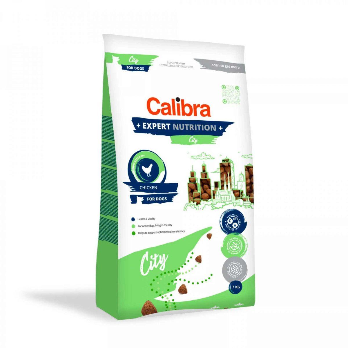 1010 calibra dog expert nutrition city 7kg