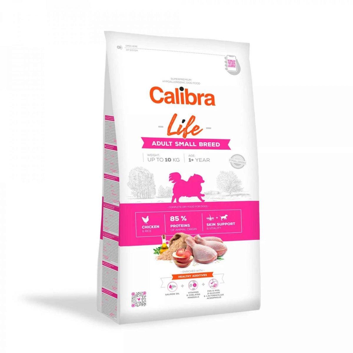 362 calibra dog life adult small chicken