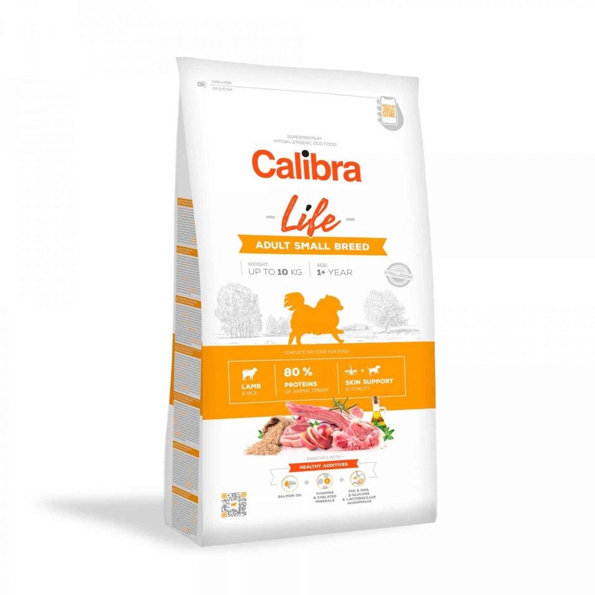 364 calibra dog life adult small lamb
